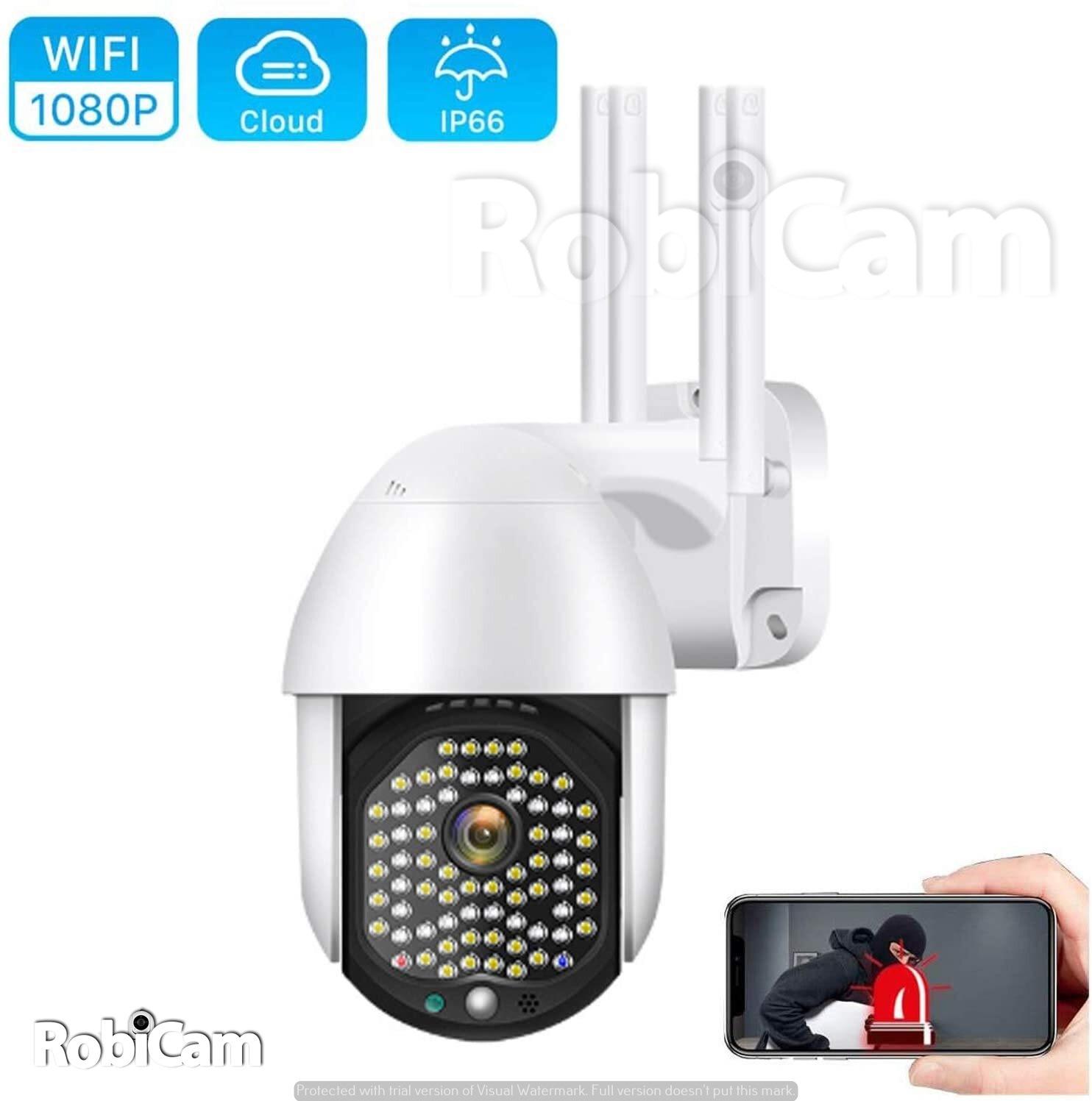 Robicam Wateproof 360 – Vízálló Wifi motoros kamera. 2MP FULL HD 1080P
