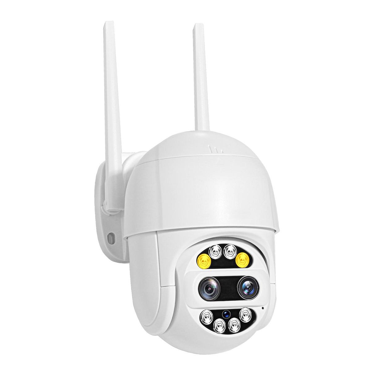 Robicam Waterproof  DUAL LENS X10 360 – Vízálló Wifi motoros kamera. 2MP FULL HD 1080P